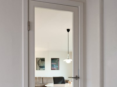Fransk dør. | French door.